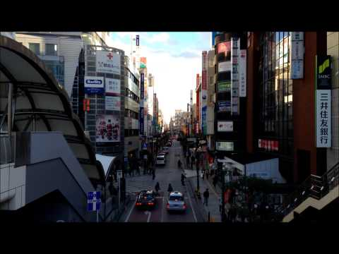 Timelapse movie in kashiwa city in chiba prefecture