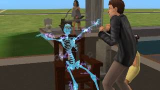 Sims 2 Funny Electrocuted Girl