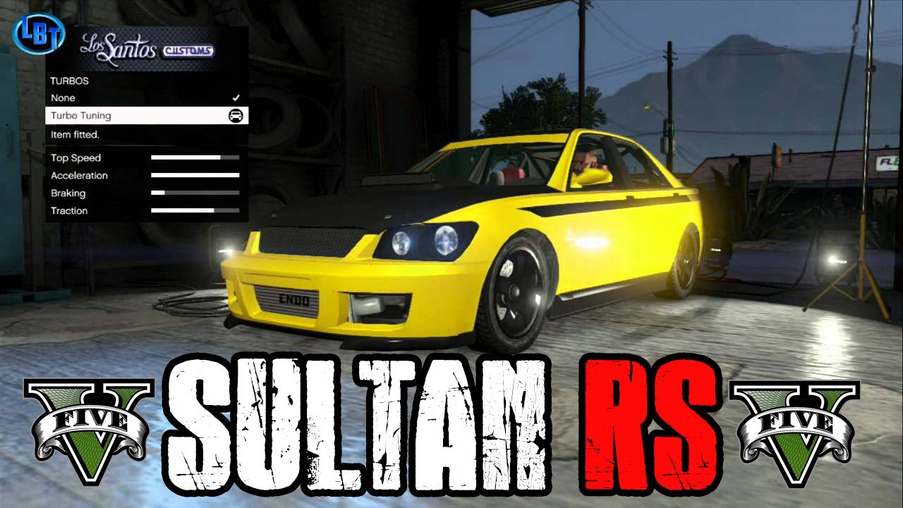GTA V Karin Sultan RS How To Find It! - YouTube