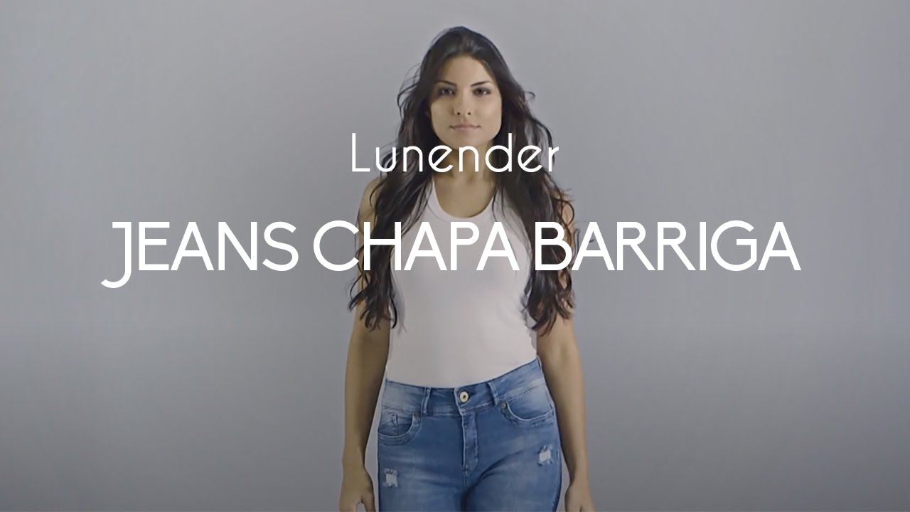 ad02c1013d Lunender Jeans Chapa Barriga - YouTube