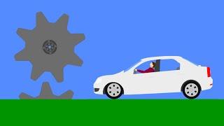 Ultimate Car Destruction  Phun Algodoo Crashes