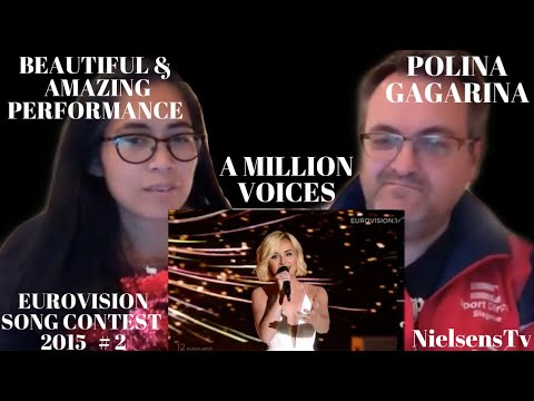 🇩🇰DANISH REACTS TO Polina Gagarina - A Million Voices 🇷🇺 LIVE ESC- BEAUTIFUL AND AMAZING VOICE