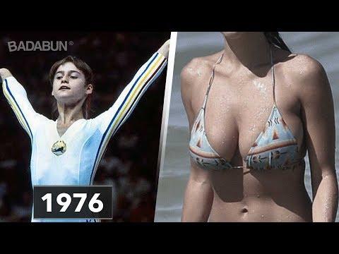 Así luce hoy la gimnasta Nadia 41 años después
