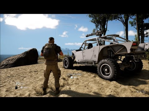 Tom Clancy's Ghost Recon: Breakpoint - Open World Free Roam Gameplay (PC HD) [1080p60FPS]
