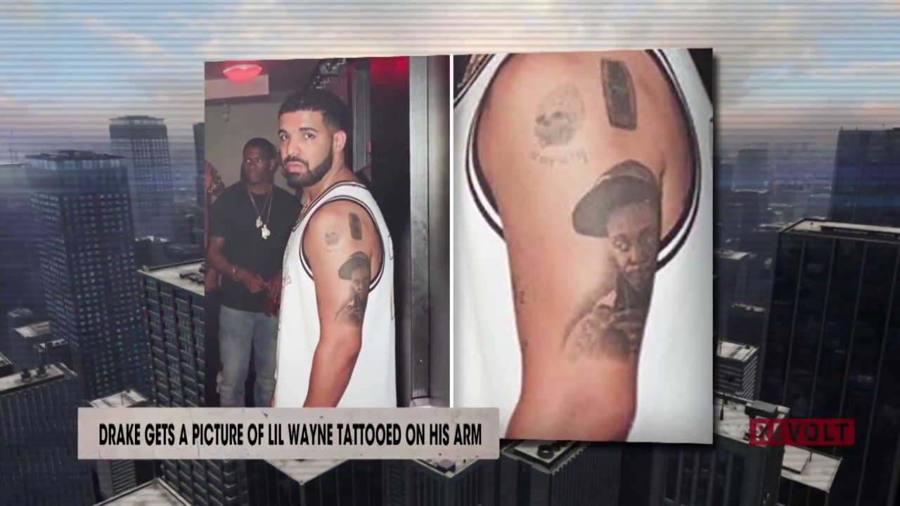 Kendrick Lamar Arm Tattoos Drake gets a picture o...