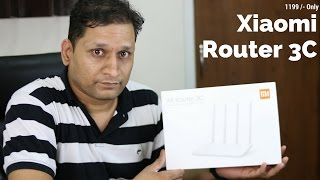 Xiaomi WiFi Router 3C Unboxing & Review