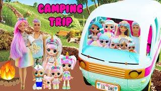 Unicorn Family Bon Bon Family CAMPING TRIP Adventure
