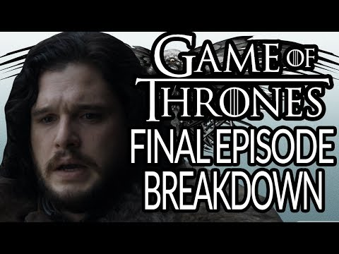 GAME OF THRONES Season 8 Episode 6 Breakdown, Recap And Theories | The Iron Throne | Final Episode