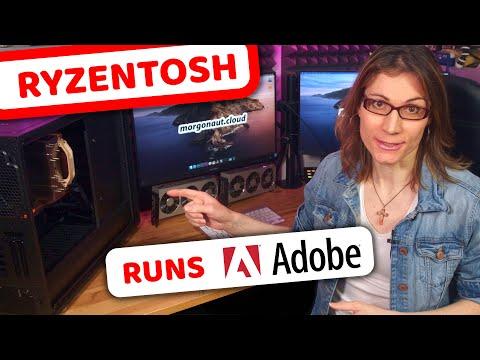 AMD Ryzen HACKINTOSH Running Adobe Apps! No Problem!