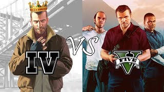 Why GTA IV is better than GTA V? (10 Reasons) - PART 2