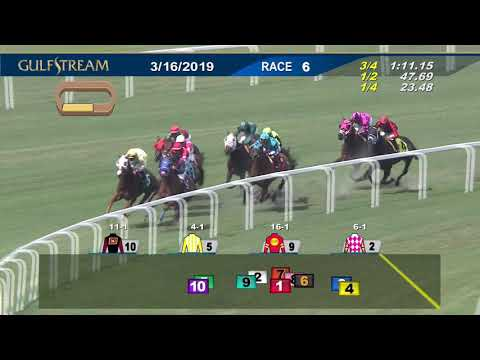 Gulfstream Park Replay show | March 16, 2019