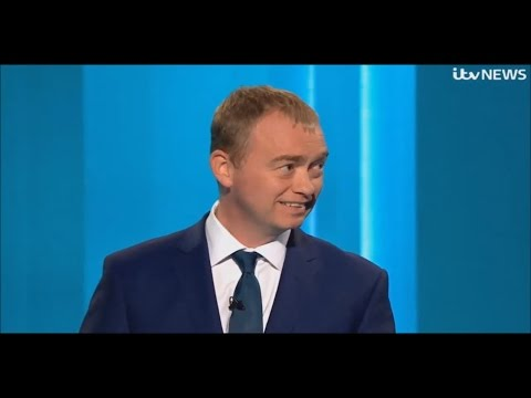Tim Farron Admits He Hates British People and Audience Laugh