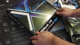 """StripeS"" project -  ASRock Z270m Extreme4 (unboxing)"