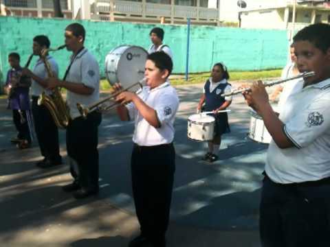 Banda de Marcha de Canteras - Practica Field Day Escuela Sofia Rexach