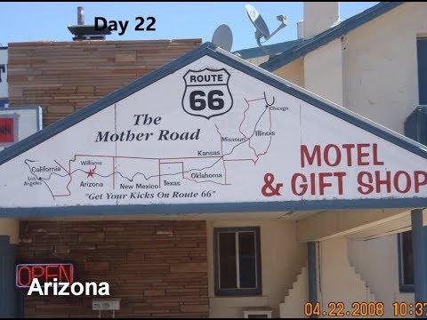 USA @ 10mph - Route 66 - California to Missouri - 2008 - Pedal Bike Tour