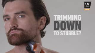 Learn how to trim your beard and stubble with the VS For Men Beard Designer