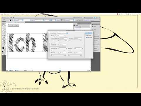 Illustrator Grunge Schrift erstellen