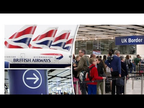 BREAKING British Airways fury over