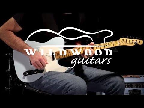 Fender Custom Shop Wildwood 10 Relic-Ready 1955 Telecaster  •  SN: R96389