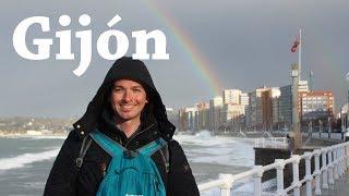 Gijón, Asturias   Viajando con Mirko