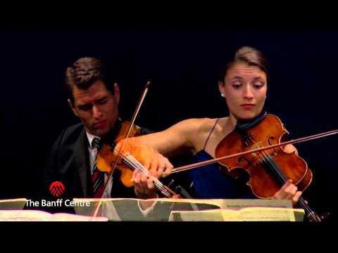 """BISQC 2013 - Dover String Quartet - Joseph Haydn Quartet in B flat Major """"Sunrise"""""""
