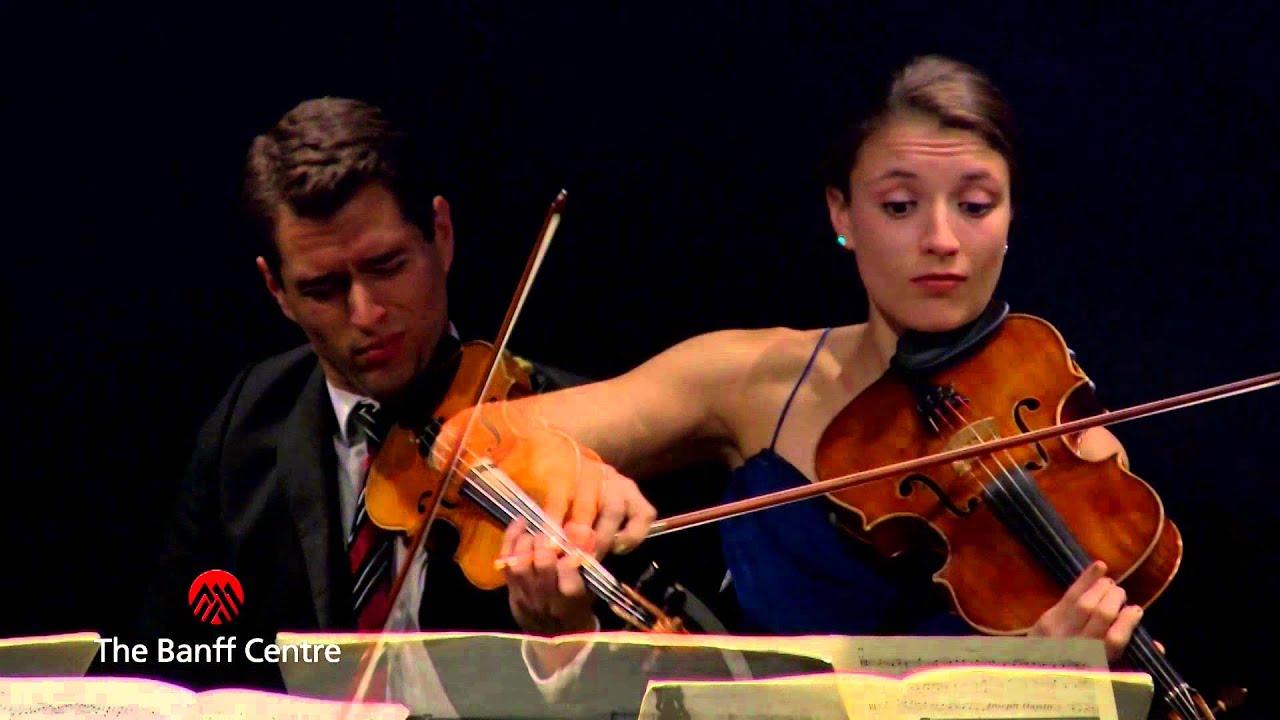 "Download BISQC 2013 - Dover String Quartet - Joseph Haydn Quartet in B flat Major ""Sunrise"""