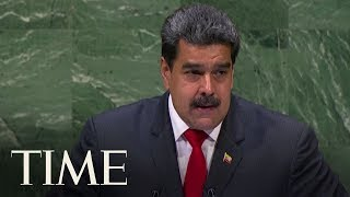 Embattled Venezuelan President Nicolas Maduro Addressed The U.N. In A Surprise Visit | TIME