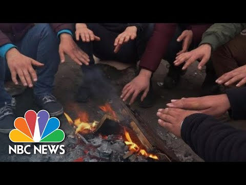 Iranian Migrants Risk Everything To Cross English Channel | NBC News