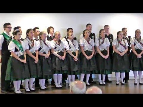 Donauschwäbische Tanzgruppe Cleveland in Karlsruhe 2017 Teil 1