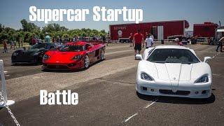 Supercar Startups: Hennessey Venom GT, XJ220, Mosler MT900, SSC Ultimate Aero, Saleen S7!