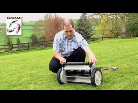 Eckman 24-Volt Cordless Rechargeable Cylinder Lawn Mower