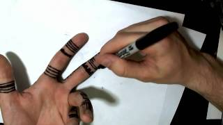 How to Draw on Your Hand