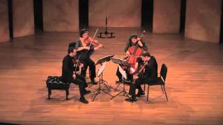 Brentano String Quartet Plays Beethoven Op. 130, 1st movement