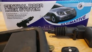 Video Universal Remote Entry Power / Power Door Locks Install download MP3, 3GP, MP4, WEBM, AVI, FLV Juli 2018