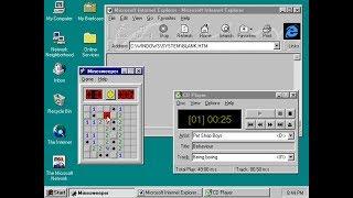 VMware Windows 95 Installation AUDIO SVGA INTERNET