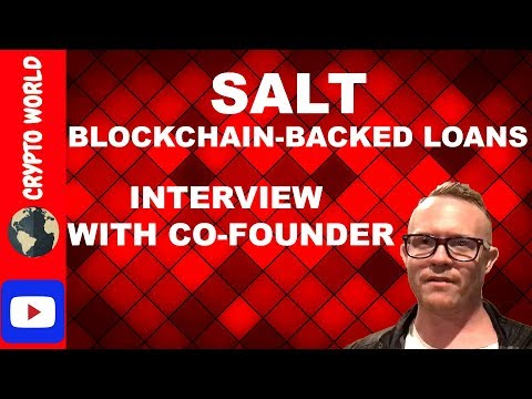 SALT COIN (Lending ) ICO Review Q&A with Co founder