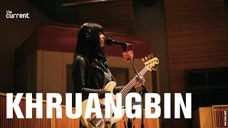 Khruangbin - two songs at The Current