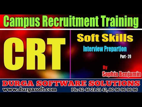 Soft skills Tutorials||Job skills| Interview Prepartion Part-20 by Sophia Benjamin
