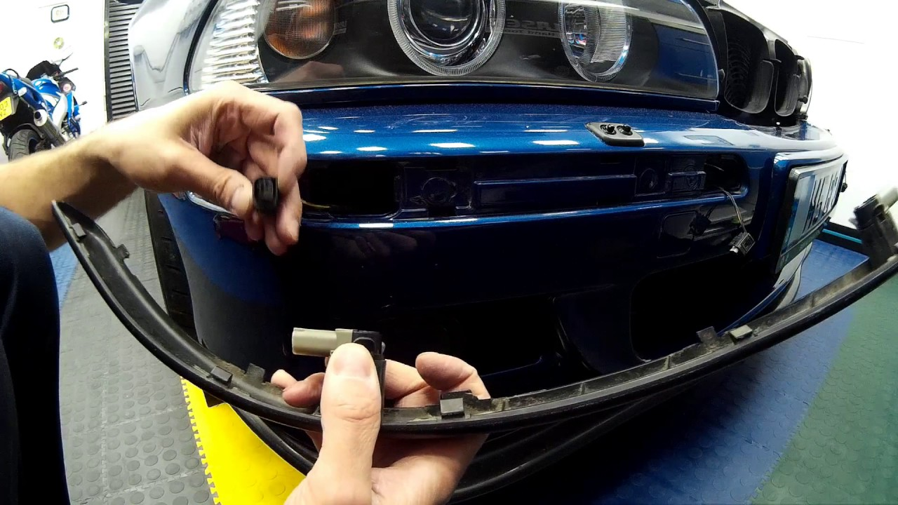 How To Guide: E39 M5 Rear Bumper removal and PDC Parking Sensor Replacement
