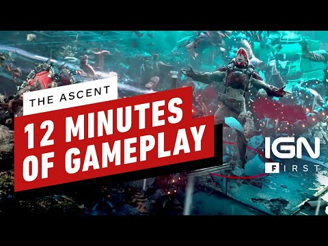 The Ascent - 12 Minutes Of Next-Gen Gameplay - IGN First