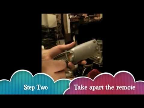 how to take remote of rollerdoor