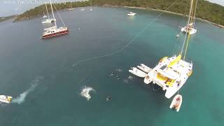 Catamaran Flip Flop - Halyard Flying in Style!