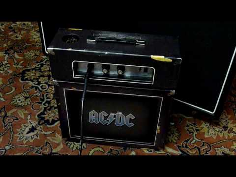 acdc backtracks mini amp collector edition box youtube. Black Bedroom Furniture Sets. Home Design Ideas