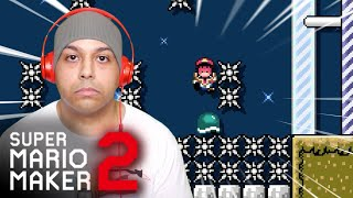 LOOK AT MY FACE.. YEAH I'M THAT MAD.. [SUPER MARIO MAKER 2] [#55]