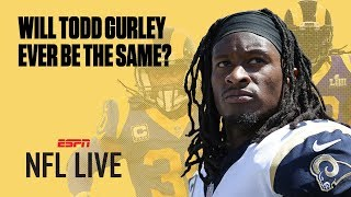 Will Todd Gurley's knee injury be a major concern for the Rams this season? | NFL Live