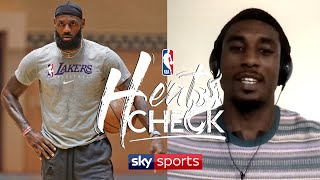 Will LeBron James get overworked in the Playoffs? | NBA Heatcheck