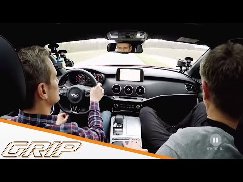 Kampfansage Aus Fernost | Kia Stinger Vs. Audi S5 Turbo | GRIP