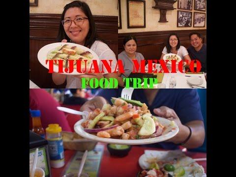 TIJUANA MEXICO - Crossing the Border