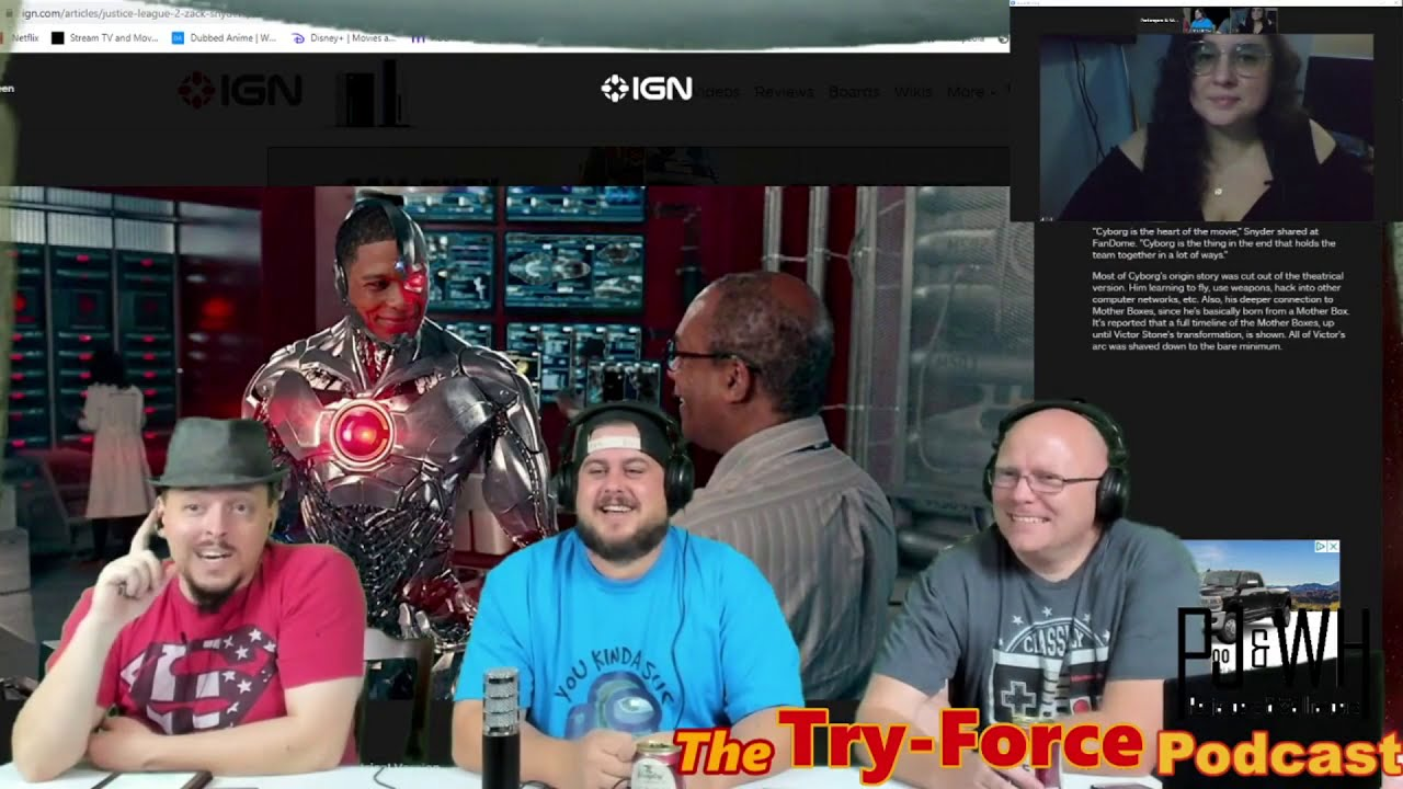 #174 Try-Force Podcast: Eating Friend Chicken and Popcorn With Chopsticks