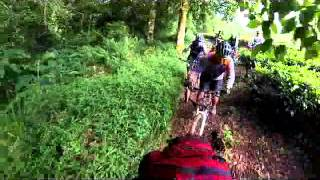 MTB at Ciwidey Tea Plantation